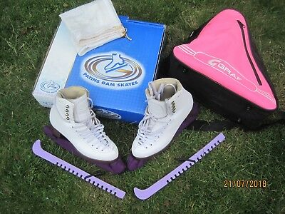 Girls Ice Skates Gam bundle size 3.5 UK (please check) In Box with all Shown