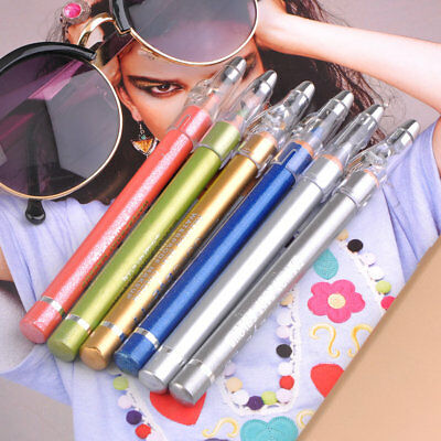 6pcs/Set Bright Eyeliner Pen Pencil Professional Cosmetic Eye Beauty Tools WN