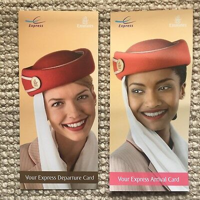 Express International Departure + Arrival Card. Fast track your travel EMIRATES