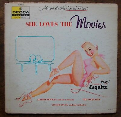 Collection Lot Of 8 Esquire Petty Girl Pin Up Rare Sexy 33Rpm Lp Records