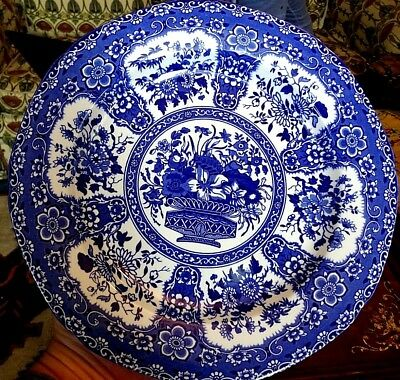 Edward Leigh Gallery Reproduction Blue & White Transfer Ware Nankeen Pattern