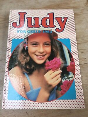 Annual Judy For Girls 1984.
