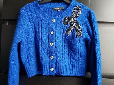 Marks and spencer girls cardigan aged 5-6 yrs