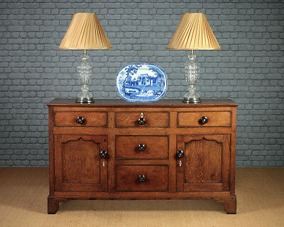 Antique 19th.c. Welsh Oak Dresser Cupboard Base c.1830.