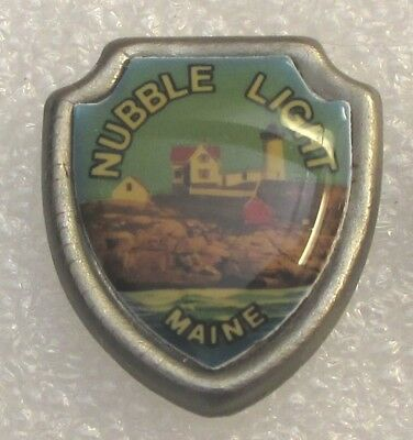 Nubble Light - Cape Neddick Lighthouse - Maine Tourist Souvenir Collector Pin