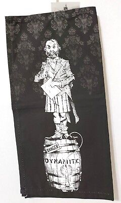 Disney Parks Stretching Wall Portraits Haunted Mansion Kitchen Towel Set
