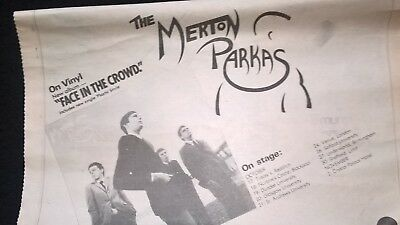 Merton Parkas-Face In The Crowd/squire Walking Down Kings Road-Adverts-Mods!!!