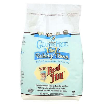 Bob's Red Mill Gluten Free 1-to-1 Baking Flour - 44 oz - Case of 4
