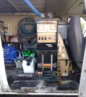 2004 Ford 350 Econoline + 4.8 Hydra Master with SALSA pkg. Carpet cleaning van