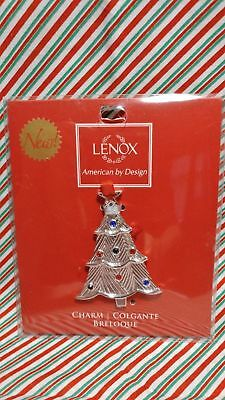 "Lenox ""jeweled Tree"" Ornament -- New In Package"
