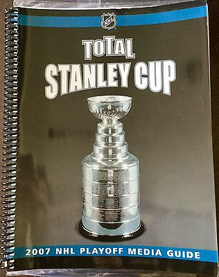 NHL Stanley Cup 2007 Ice Hockey Playoffs Media Guide Book