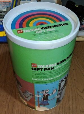Talking Viewmaster Gift Pak With Reels and Canister