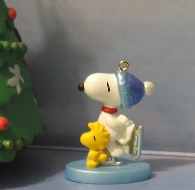Hallmark Keepsake Ornament Winter Fun With Snoopy 4th In Series Miniature