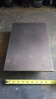 """Brown and Sharpe Cast Iron Surface Plate 15x10x3"""""""