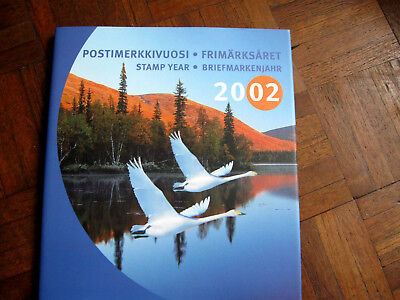 Finland Stamps Year Book 2002