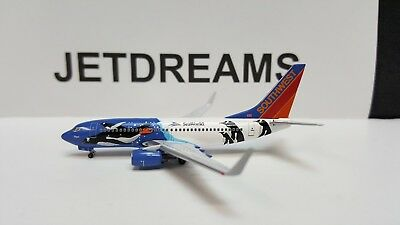 1/400 Southwest Airlines 737-700Wl N280Wn Seaworld Penguin Colors Aeroclassics