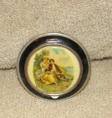 Collectible Ladies Powder Compact