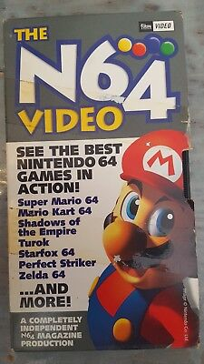 VHS The N64 promo video cassette Unique Content YouTube Youtubers