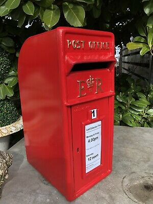 ER Royal Mail Post Box  Cast Iron Post Box Post Office Box BLACK FRIDAY DEAL