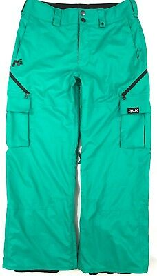 Analog Asset Mens Snowboard Ski Pants Snow Salopettes Trousers 10K RRP£150