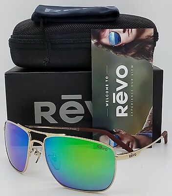 b7a73a50188 NEW Revo Groundspeed sunglasses RE 3089 GF GN Green Gold Polarized ground  RE3089
