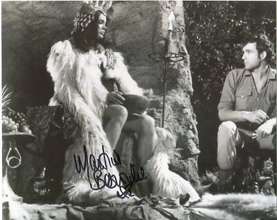 Martine Beswick Photo Signed In Person - One Million Years B.C. - D968