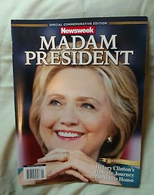 Hillary Clinton Madam President Newsweek RECALLED Full Magazine
