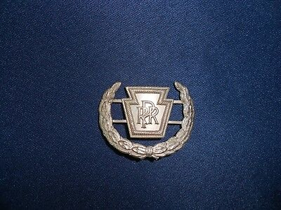 Vintage Pennsylvania Railroad Uniform Hat Badge PRR