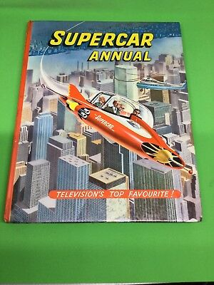 Gerry Anderson's Supercar Annual 1963 / 1964 Unclipped, Vintage Sci-Fi TV Series