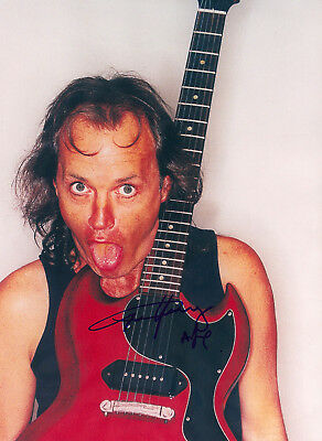 ANGUS YOUNG AC/DC Signed 8x10 Photo Autographed ACDC