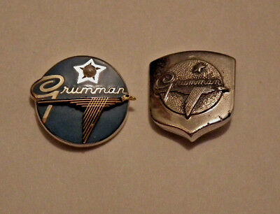 ***apollo Grumman Employee Pins 10K Gold And Sterling