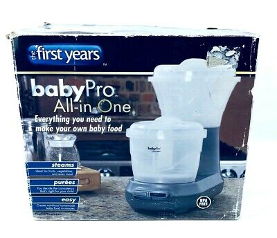 The First Years Baby Pro All-In-One Steamer & Pure'e/Processor BPA Free