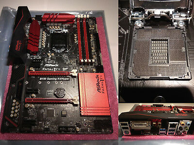 ASRock Fatal1ty B150 Gaming K4/Hyper Intel B150 So.1151 (B150 GAMING K4/HYPER)