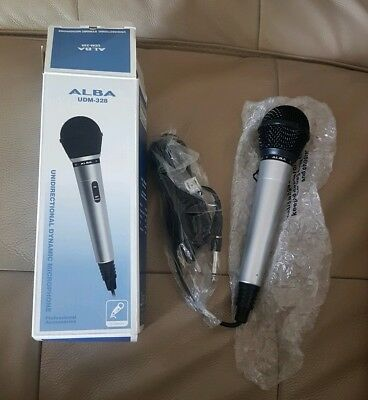 new microphone Alba UDM-328 boxed karaoke sound-performence dj equipment
