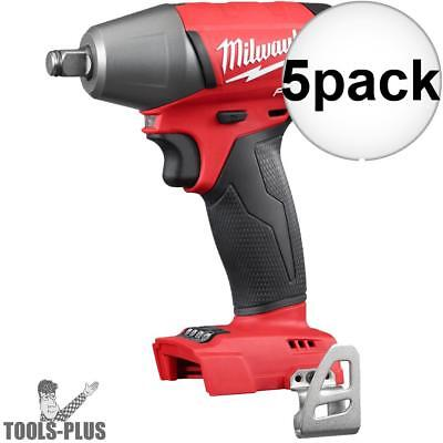 "Milwaukee 2755B-20 1/2"" Impact Wrench with Friction Ring (Tool Only) 5x New"