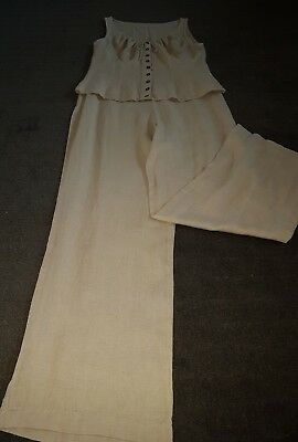 DEBORAH HILL PANTS AND TOP SET SIZE 10 1990s ERA