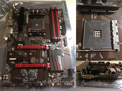 Gigabyte GA-AB350-Gaming - Mainboard - Sockel AM4 - AMD