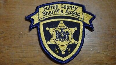 Fulton County New York Sheriff's Association  Patch Bx 10 #4