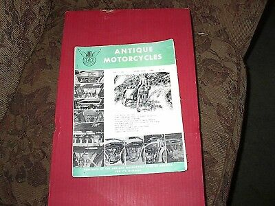 Vintage The Antique Motorcycles Club Magazine spring 1966 vol.5 no.1, 25 pages
