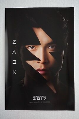 SDCC 2016 Power Rangers Movie Zack 13x20 Poster Lionsgate Exclusive
