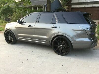"2014 Ford Explorer Limited ** 2014 Ford Explorer - Limited - AWD - CUSTOM - 24"" Rims - TONS OF PICTURES! **"