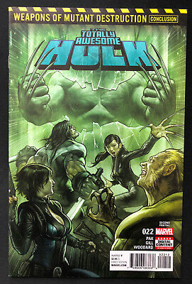 Totally Awesome Hulk 22 WMD First Appearance Of Weapon H Conclude NM 2ND PRT