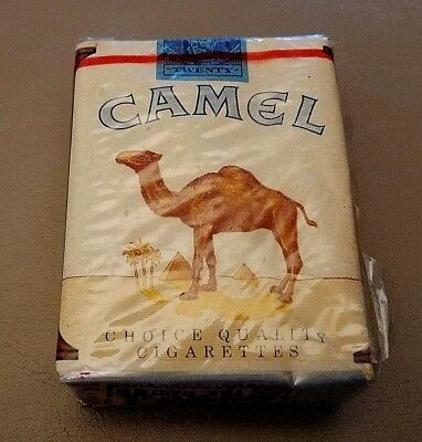 "Vtg Camel Cigarettes Non Filter - Unopened - 3/4"" Series 125 Tax Stamp 1950's"