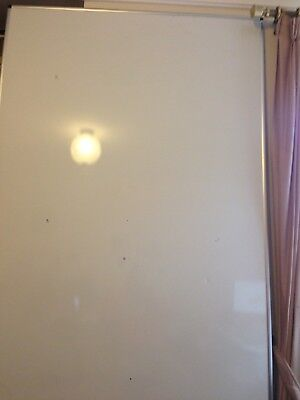 White Board - Boone 2.4m x 1.2m Good condition - has a couple of dents