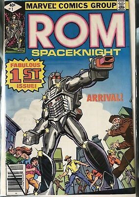 ROM #1 - Bronze Age First Appearance 1979 Marvel Comics Key Issue