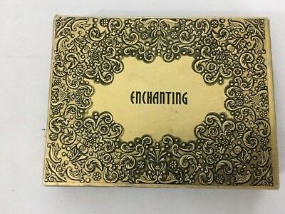 Antique Playing Cards Double Deck Congress Gold  Black  Enchanting