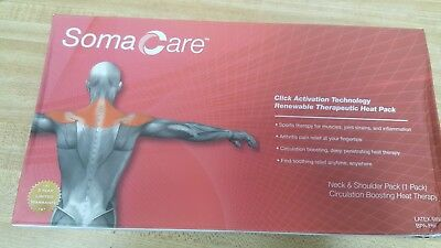 Soma Care Therapeutic heat pack for Neck & Shoulder Health Gym workout