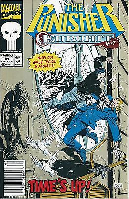 Punisher #67 Newsstand Ed./1987 series (Aug. 1992) FN Modern Age Marvel ID#679