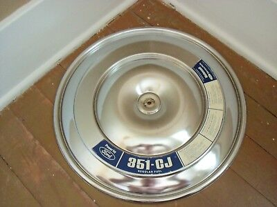 Vintage 1972  Ford 351 Cleveland  CJ Air Cleaner Top Torino