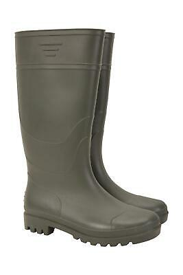 Mountain Warehouse Mens Wellies with Soft Fabric Lining and Cushioned Footbed